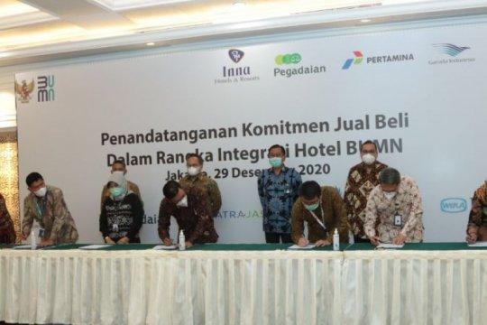 Holding hotel, WIKA Realty dan 4 BUMN sepakati perjanjian komitmen