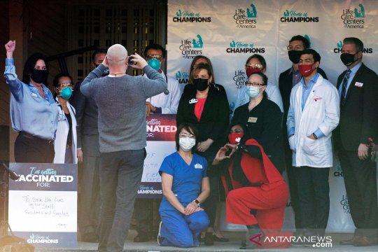 CDC:  9 juta warga AS telah divaksinasi COVID-19