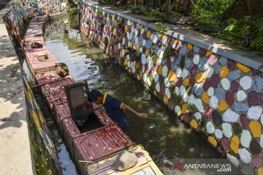 Kelompok tani di Tasikmalaya manfaatkan sungai untuk keramba ikan