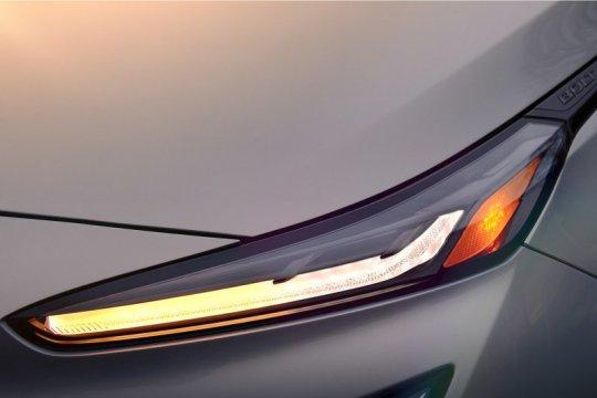 Chevrolet ungkap tampilan lampu Bolt EUV 2022