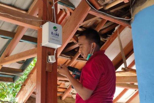 UI pasang alarm peringatan gempa di Sukabumi