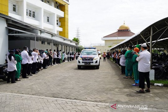 Perawat di RSUD Gambiran Kediri meninggal terpapar COVID-19