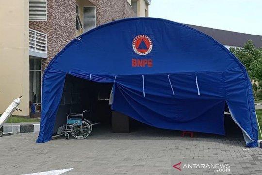 RS SLG Kabupaten Kediri persiapkan tenda tangani pasien COVID-19