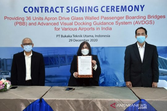 Bukaka dapat kontrak pengadaan garbarata Rp303 miliar dari India