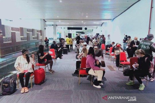 Penanganan kedatangan penumpang internasional di Bandara Soetta lancar