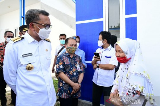 Gubernur Sulsel serahkan 50 unit huntap untuk korban banjir Lutra
