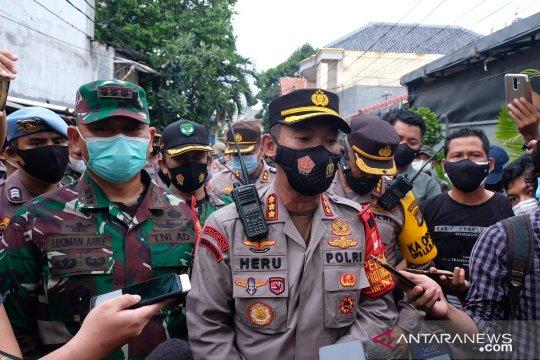 Kodim Jakarta Pusat patroli gabungan terkait larangan FPI