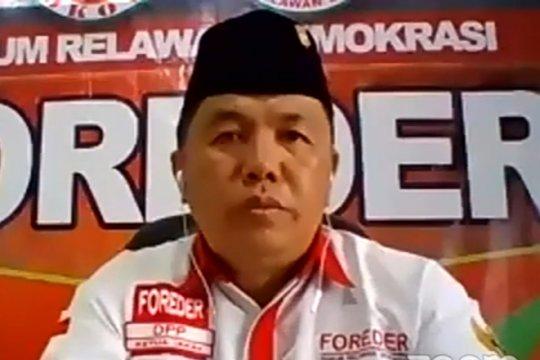 Relawan: Jokowi-Ma'ruf berjuang habis-habisan tangani pandemi