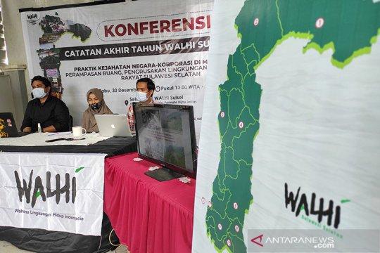 Walhi Susel: Dampak materil kerusakan lingkungan capai Rp8,24 triliun