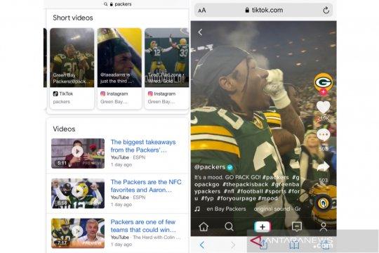 Google uji coba fitur pencarian video pendek TikTok dan Instagram