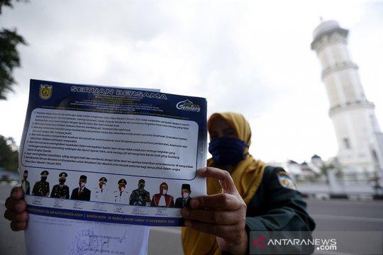 Wali Kota Banda Aceh: Warga rayakan tahun baru akan disanksi
