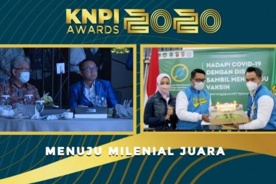 KNPI nobatkan Ridwan Kamil sebagai Bapak Pembangunan Kepemudaan Jabar