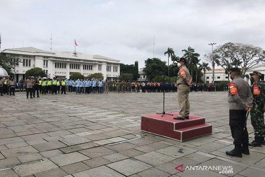 Jakarta Barat siagakan 742 personel untuk patrol malam Tahun Baru 2021