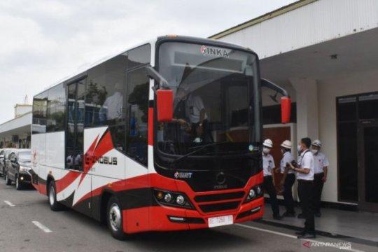 INKA uji operasional bus listrik di Jakarta