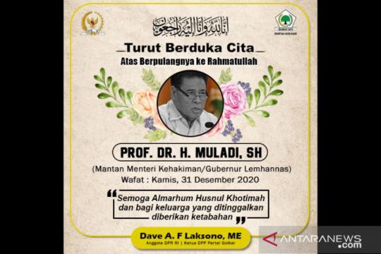 Anggota DPR sampaikan doa untuk almarhum Prof Muladi