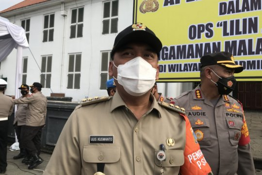 931 tenaga kesehatan Jakarta Barat telah divaksinasi COVID-19