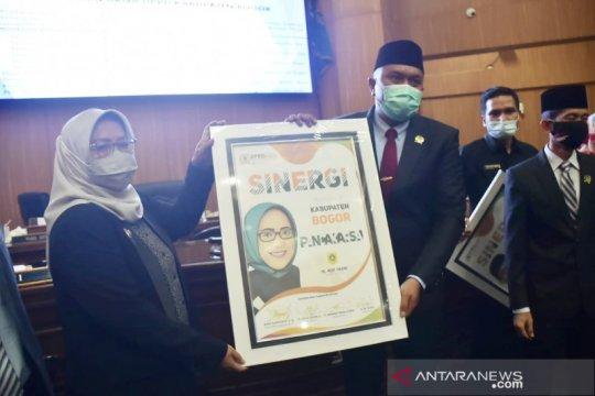 Bupati Bogor memuji kinerja DPRD selama tahun 2020