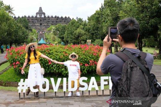 Ada COVID, pengunjung Candi Borobudur pada 2020 turun 77,3 persen