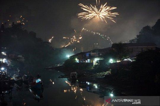 Perayaan tahun baru di Sorong