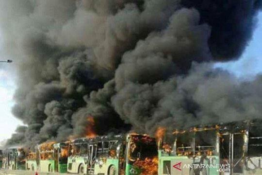 28 orang tewas dalam penyergapan bus di Deir al-Zor