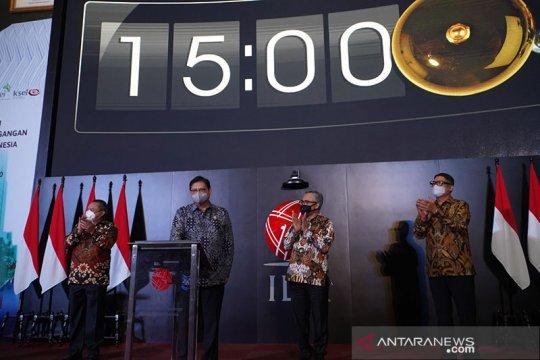 Menko Airlangga: Insentif bantu pasar modal bertahan saat pandemi