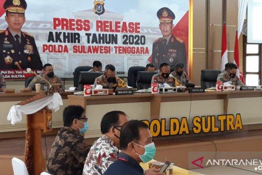 Tahun 2020, Polda Sultra menangani 22 kasus korupsi