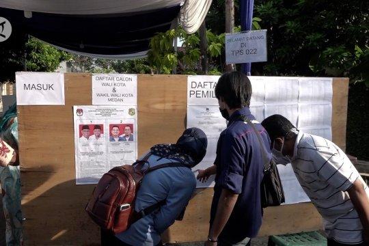 Calon wali kota Medan kompak tidak saling klaim kemenangan pilkada