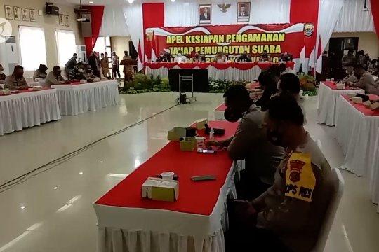 Gubernur Sultra pimpin apel PAM pemungutan suara