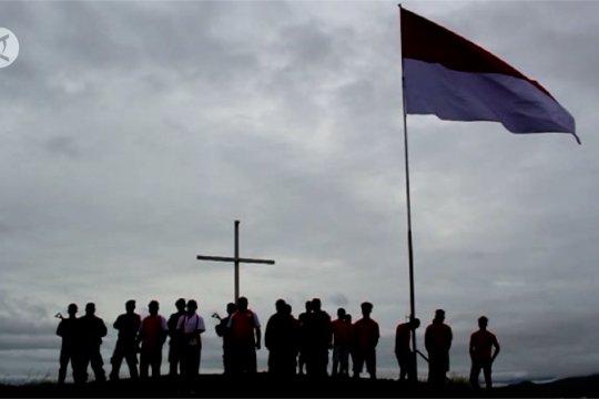 Warga Jayapura kibarkan Merah Putih, tolak OPM