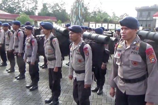 4 SSK Brimob Nusantara diterjunkan untuk amankan Pilkada di Sultra