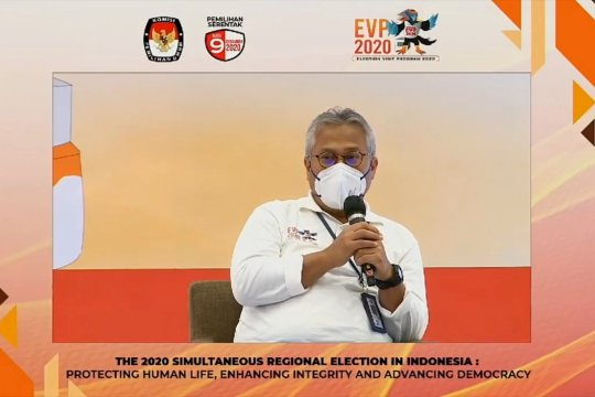 Ketua KPU: Selesaikan tahapan pemilu dengan menerapkan prokes