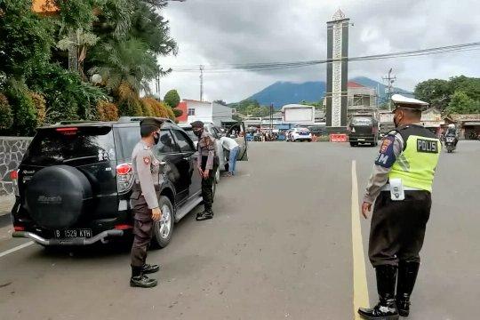 Polres Pandeglang lakukan penyekatan terkait rencana aksi di Jakarta