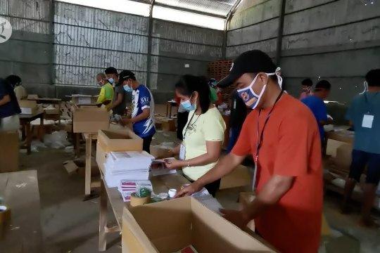 KPU Pandeglang kebut proses lipat surat suara