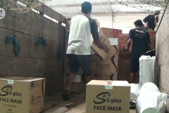 KPU Pekalongan distribusikan APD pilkada