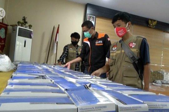 Logistik Pilkada Cilegon di PPK Jombang rusak terendam banjir