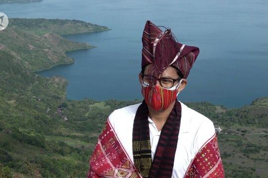 Menparekraf kebut pembangunan wisata Danau Toba tahun 2021