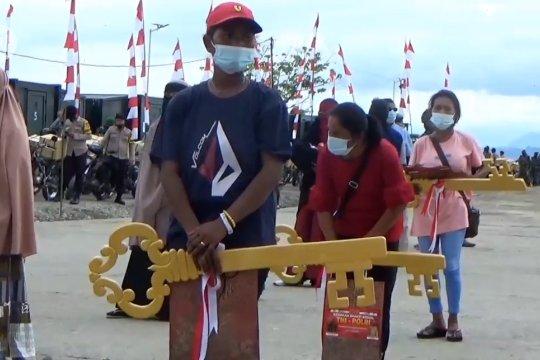 Panglima TNI serahkan bantuan rumah untuk korban serangan teroris Sigi