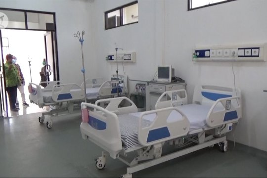 Pemkot Kendari resmikan gedung infection center COVID-19