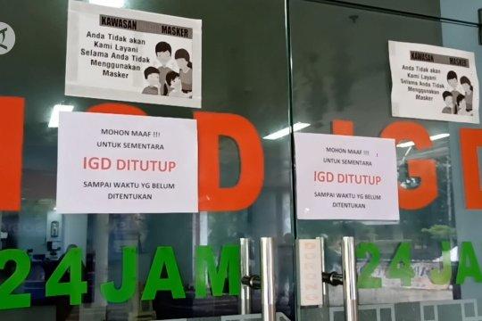 RSUD Depati Hamzah Pangkalpinang tutup sementara pelayanan kesehatan