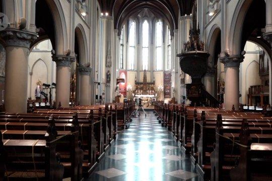 Katedral Jakarta batasi kapasitas Ibadah Natal tatap muka 20 persen