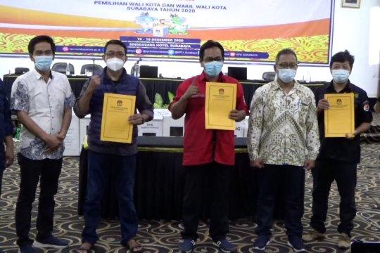 KPU tetapkan rekapitulasi Pilkada Surabaya