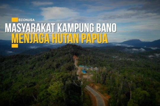 Masyarakat Kampung Bano menjaga hutan Papua