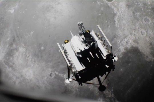 Misi pengambilan sampel Bulan pertama di dunia dalam lebih dari 40 tahun