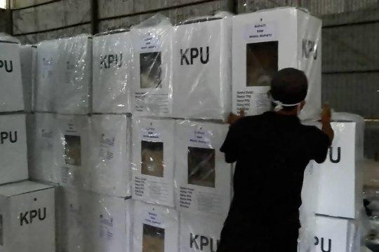Musim hujan, KPU Pandeglang perketat proteksi distribusi logistik Pilkada