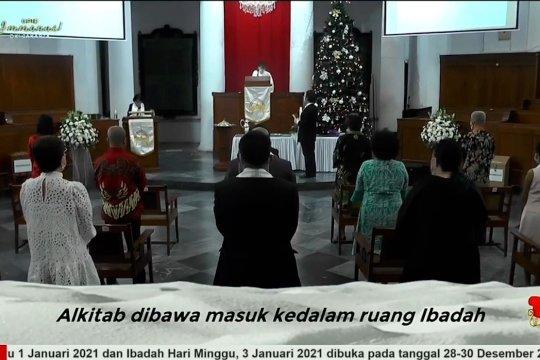 Pelaksanaan Misa Natal di Gereja Immanuel Jakarta