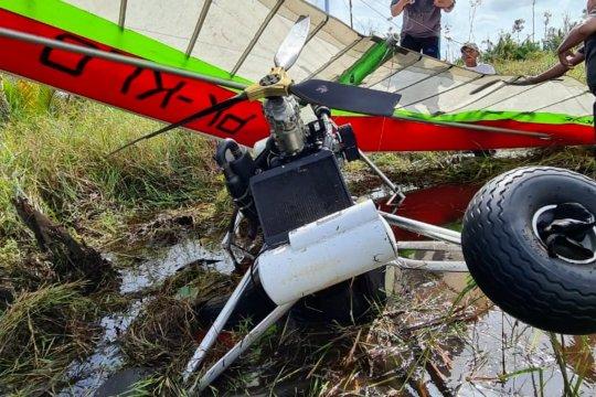 Pesawat latih KLHK jatuh di Ketapang Kalbar