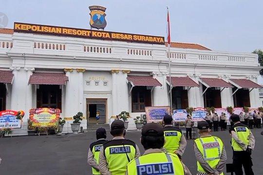 Polrestabes Surabaya antisipasi kerumunan perayaan malam tahun baru