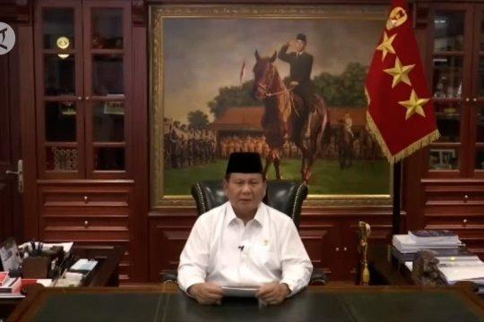 Prabowo ingatkan pentingnya bela negara