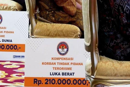 Presiden serahkan dana kompensasi Rp 39,205 M kepada korban terorisme masa lalu