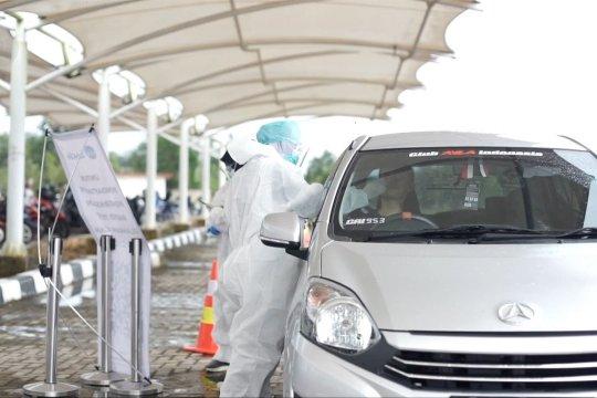 Bandara Depati Amir terapkan tes cepat layanan tanpa turun